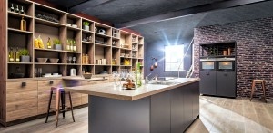 European modern kitchen design